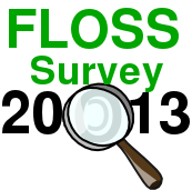 FLOSS Survey 2013 Logo